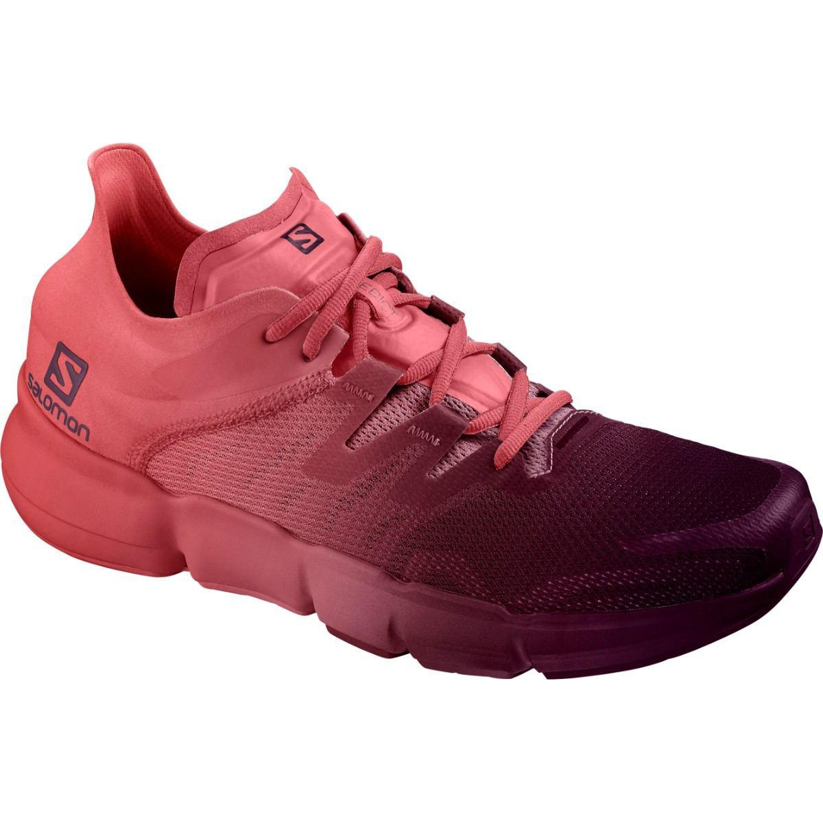 Pantofi alergare Salomon PREDICT RA W - Rosu