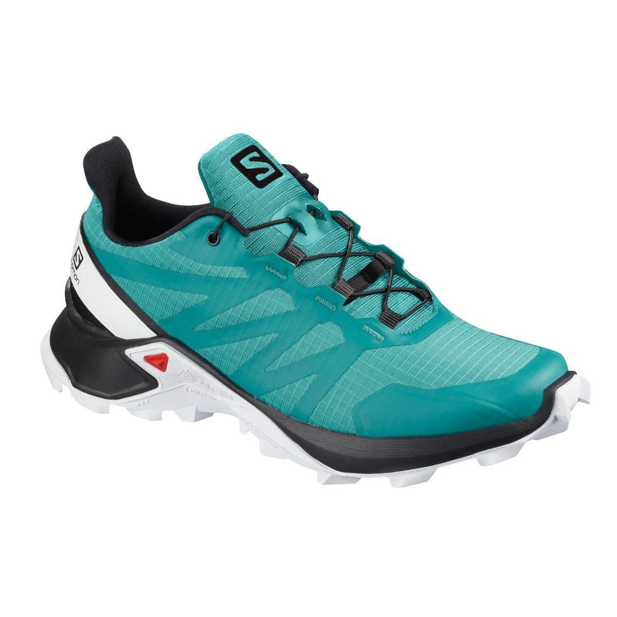 Pantofi alergare Salomon SUPERCROSS W - Albastru