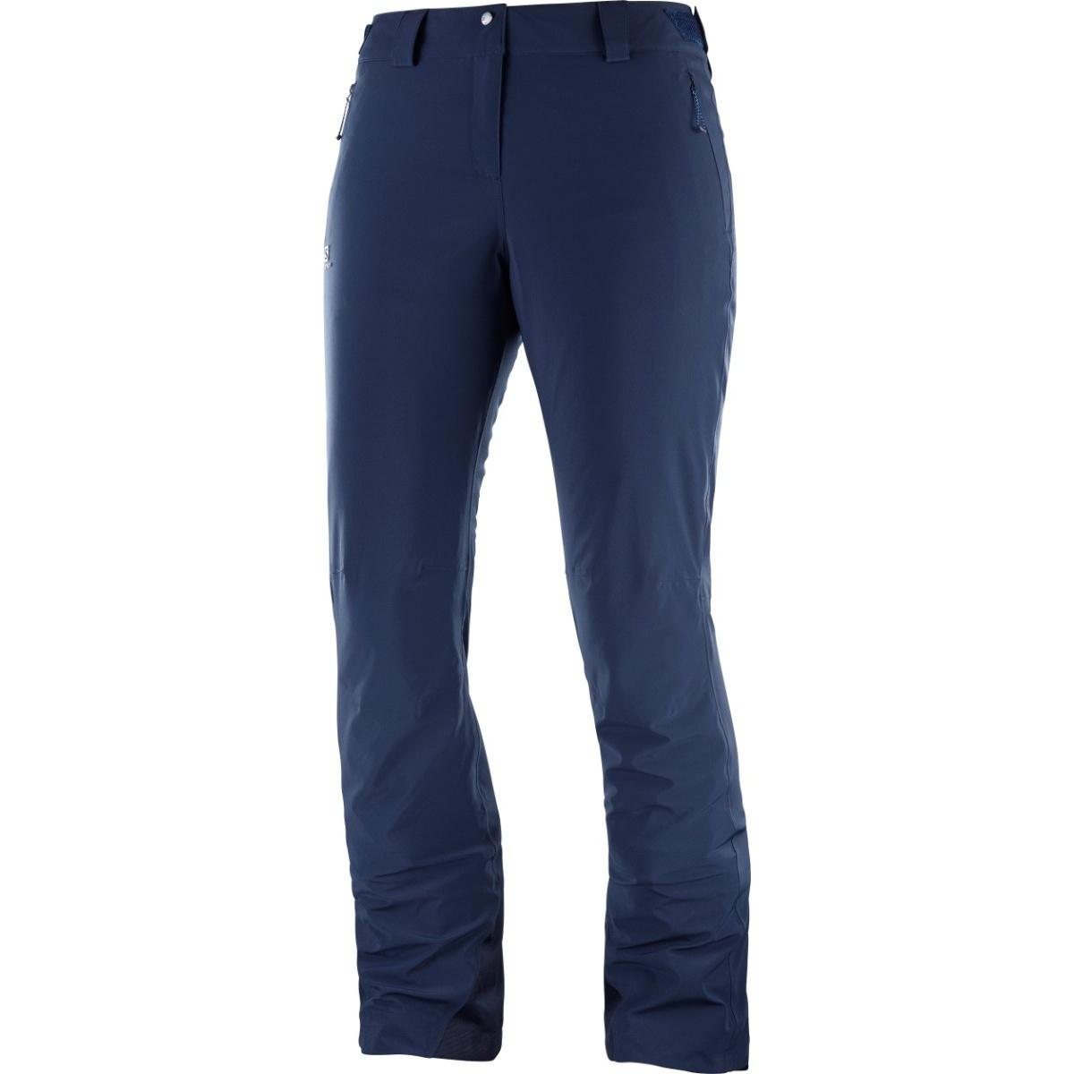 Salomon Pantaloni de ski Salomon ICEMANIA - Bleu