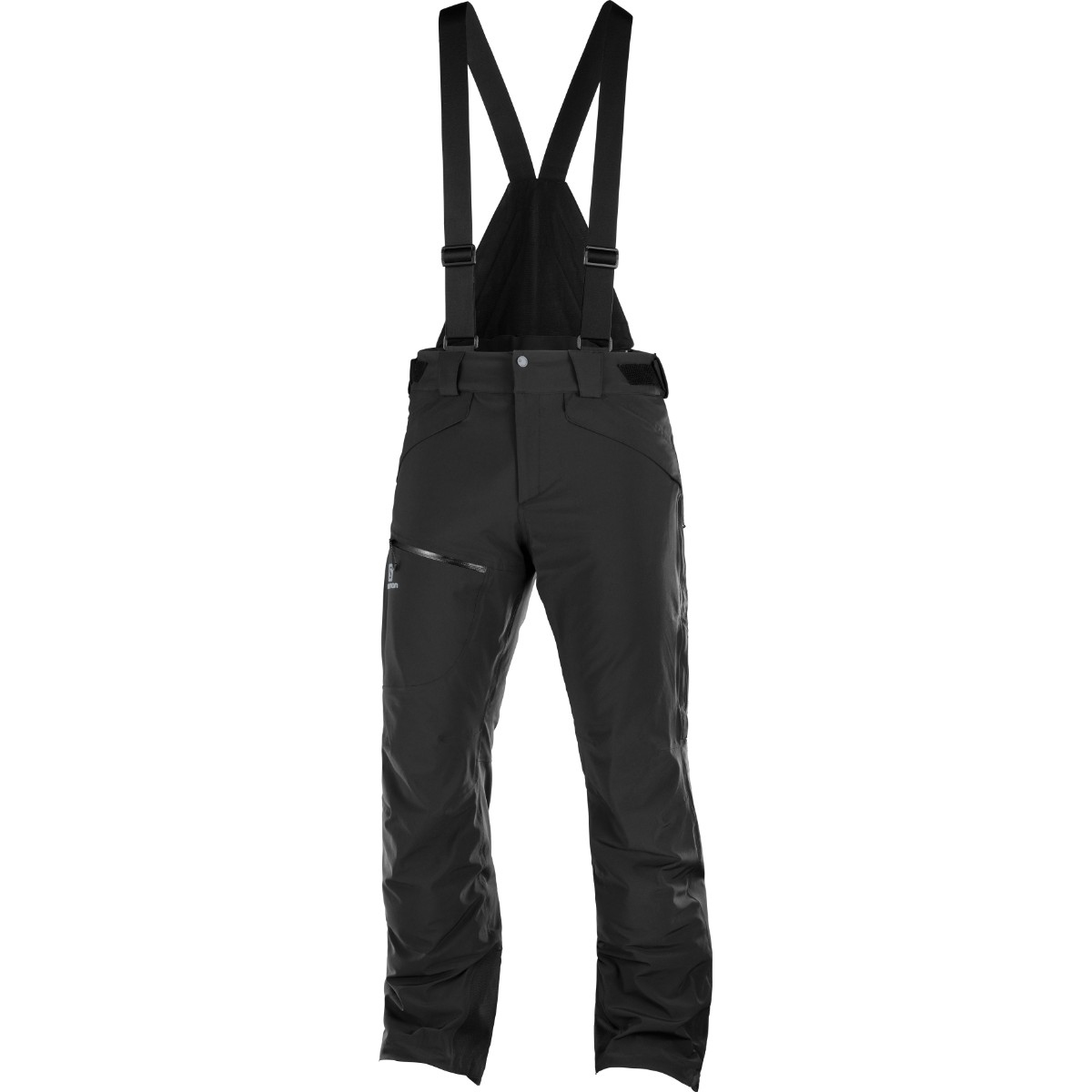 Pantaloni de ski Salomon CHILL OUT BIB - Negru