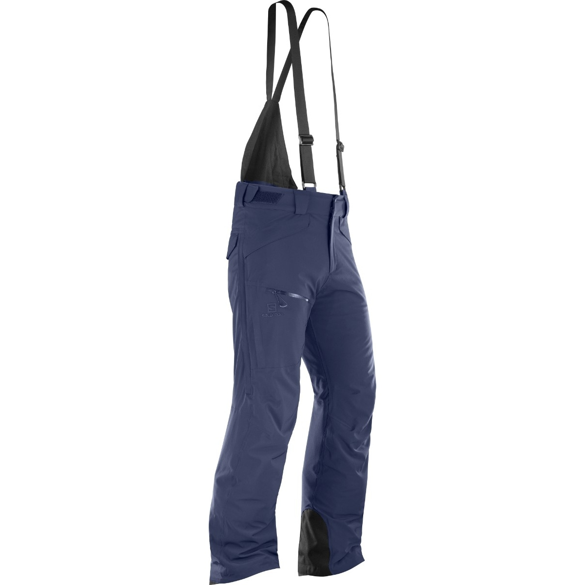 Pantaloni de ski Salomon CHILL OUT BIB - Bleu