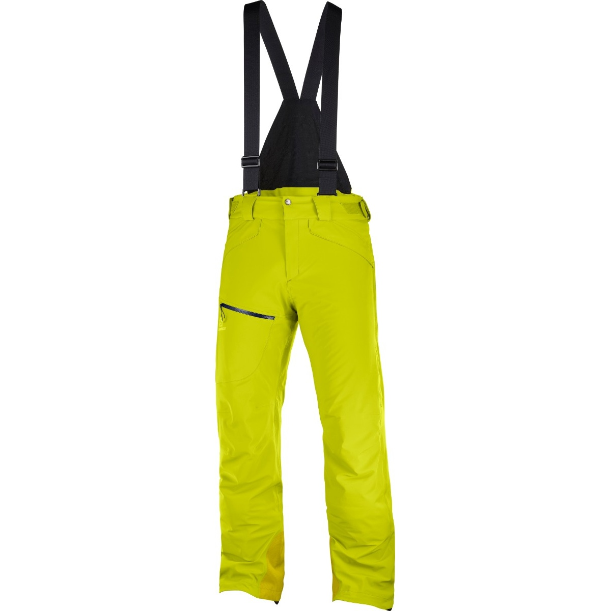 Pantaloni de ski Salomon CHILL OUT BIB - Galben