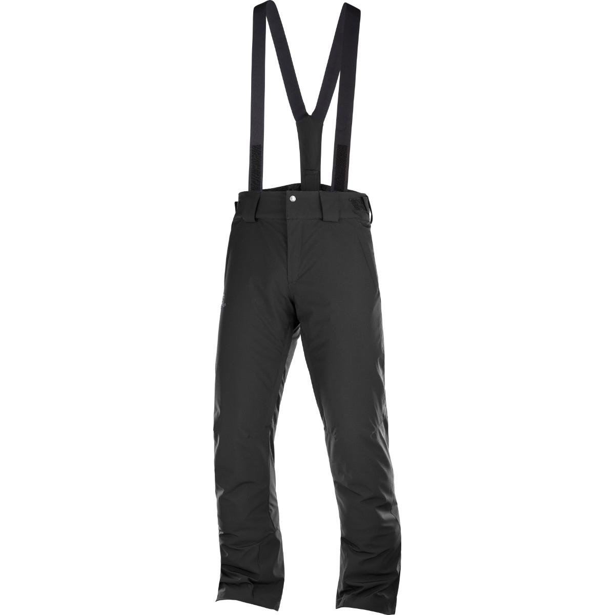 Pantaloni de ski Salomon STORMSEASON - Negru