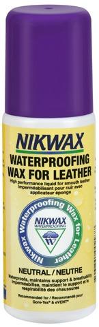 Ceara lichida Nikwax pentu incaltaminte piele