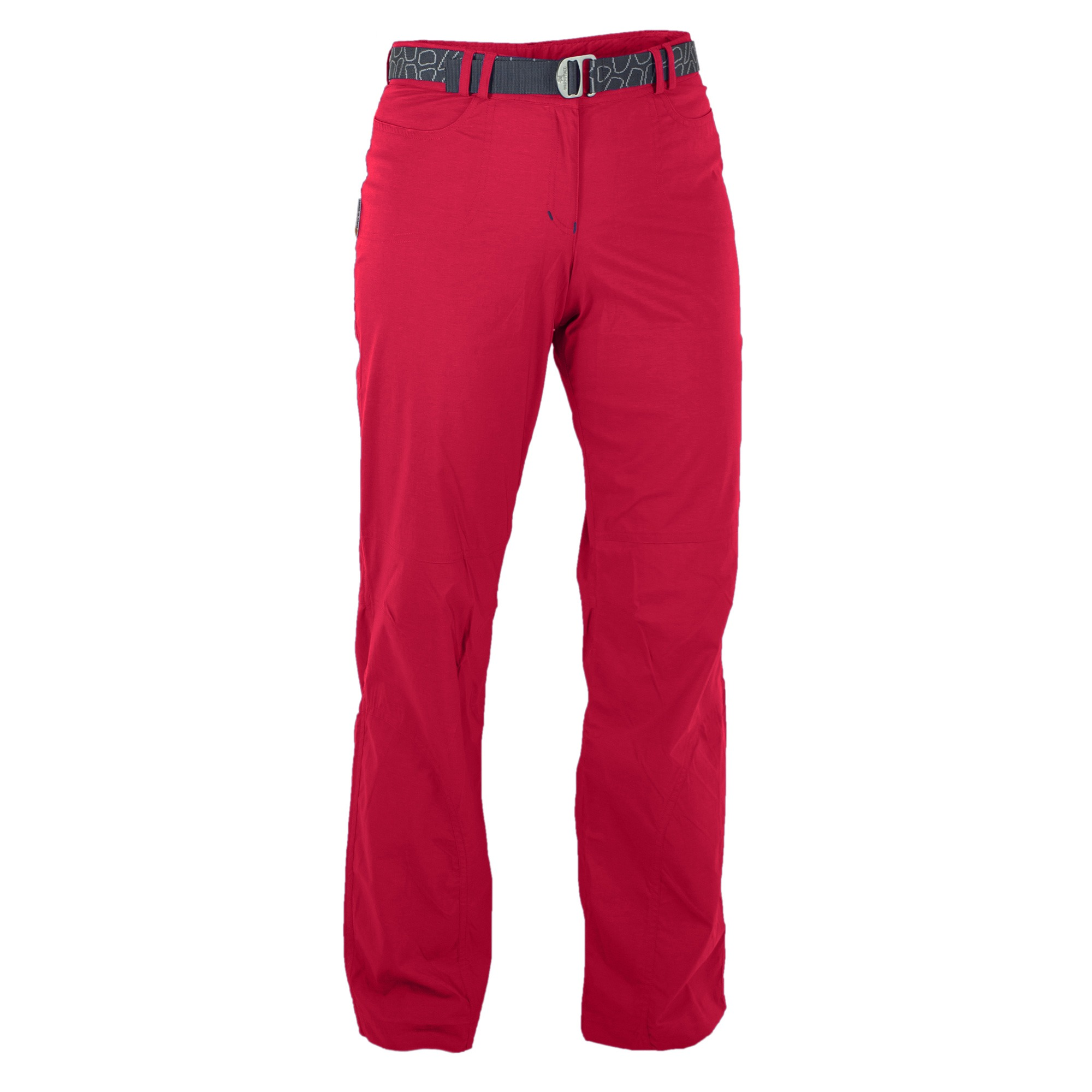 Pantaloni Trekking Warmpeace Astoria Lady - Rosu