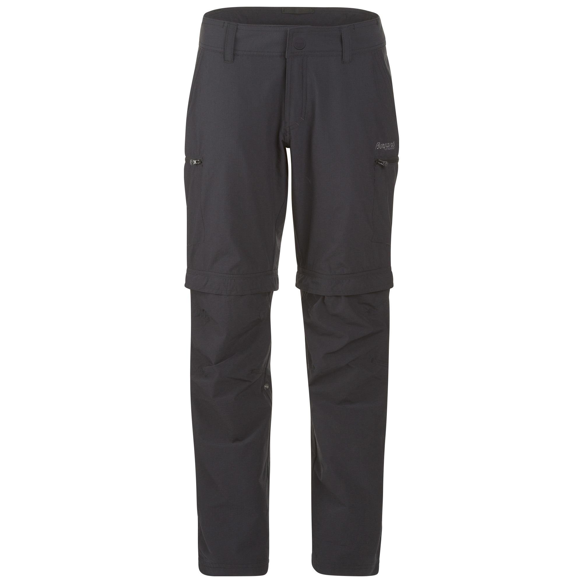 Pantaloni Bergans Imingen Lady ZipOff - Negru