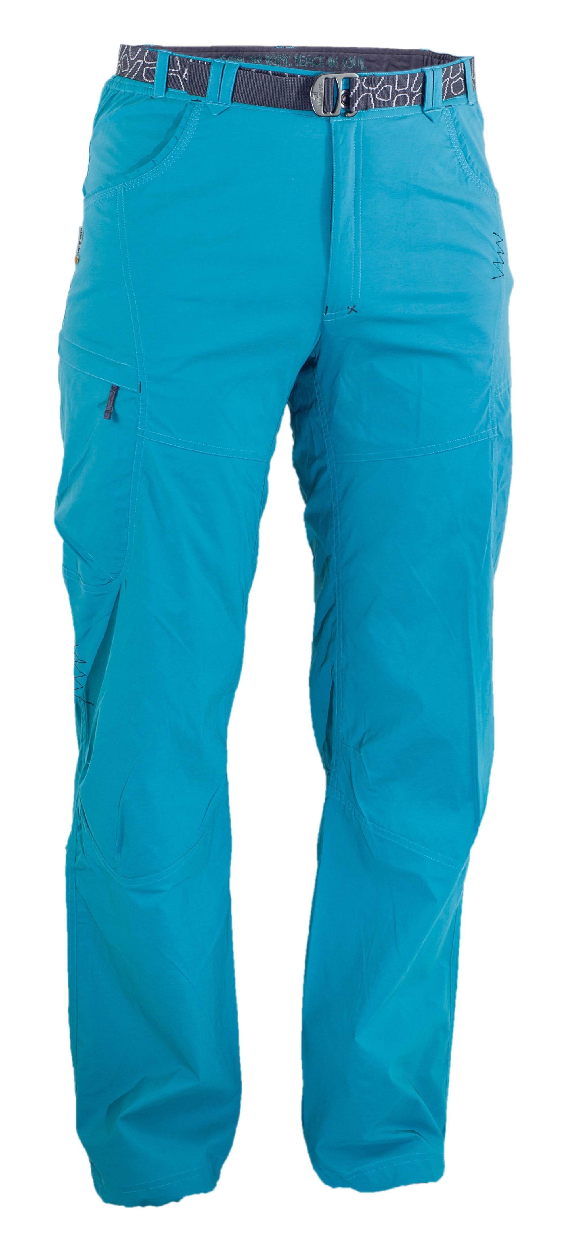 Pantaloni Warmpeace Corsar - Albastru
