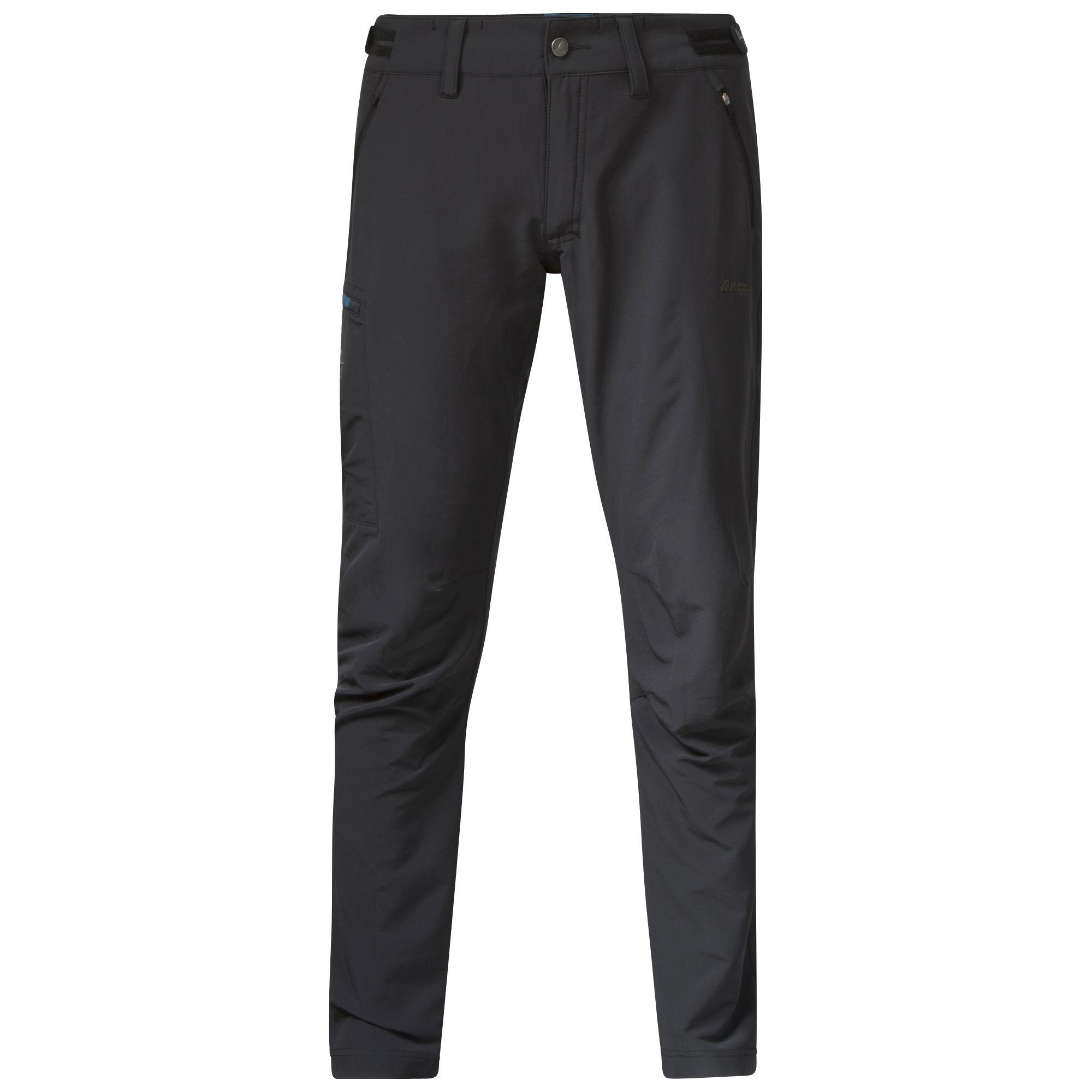 Pantaloni Softshell Bergans Torfinnstind - Negru