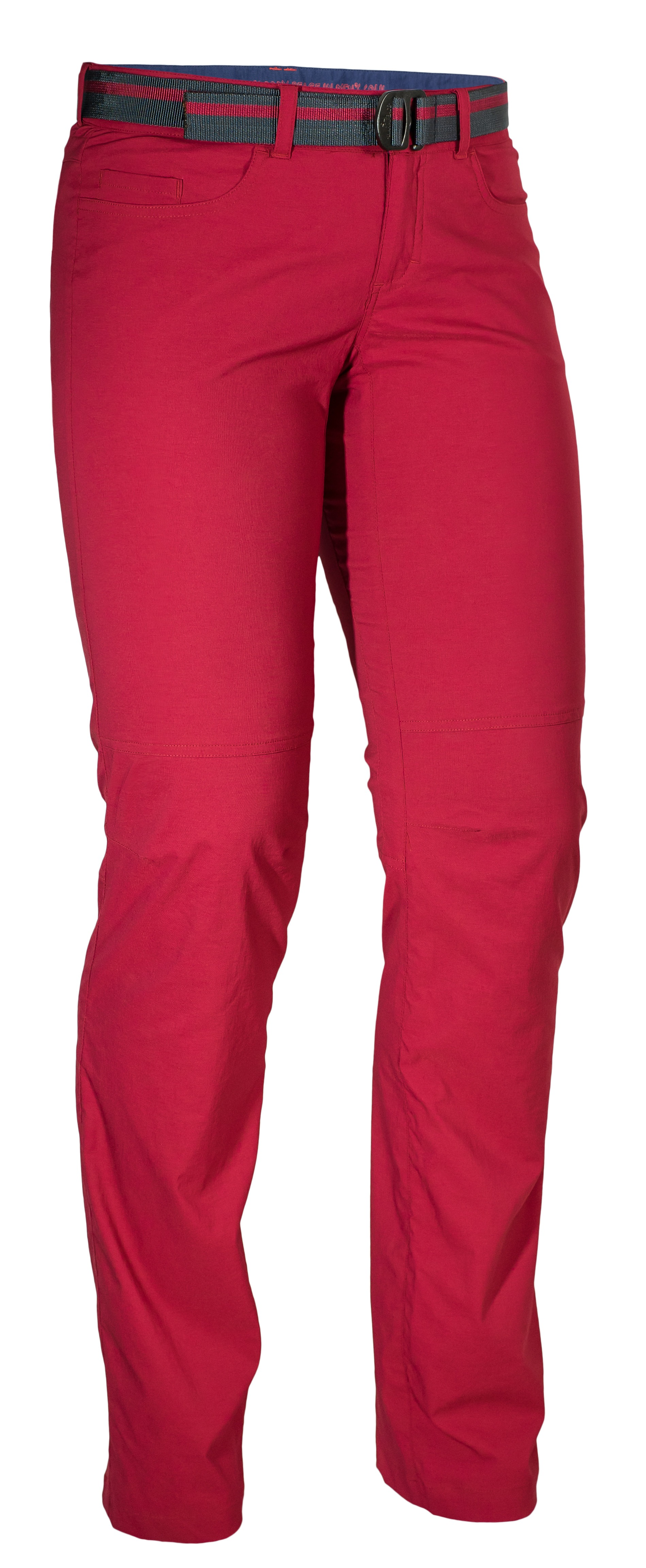 Pantaloni Warmpeace Atlanta Lady - Rosu