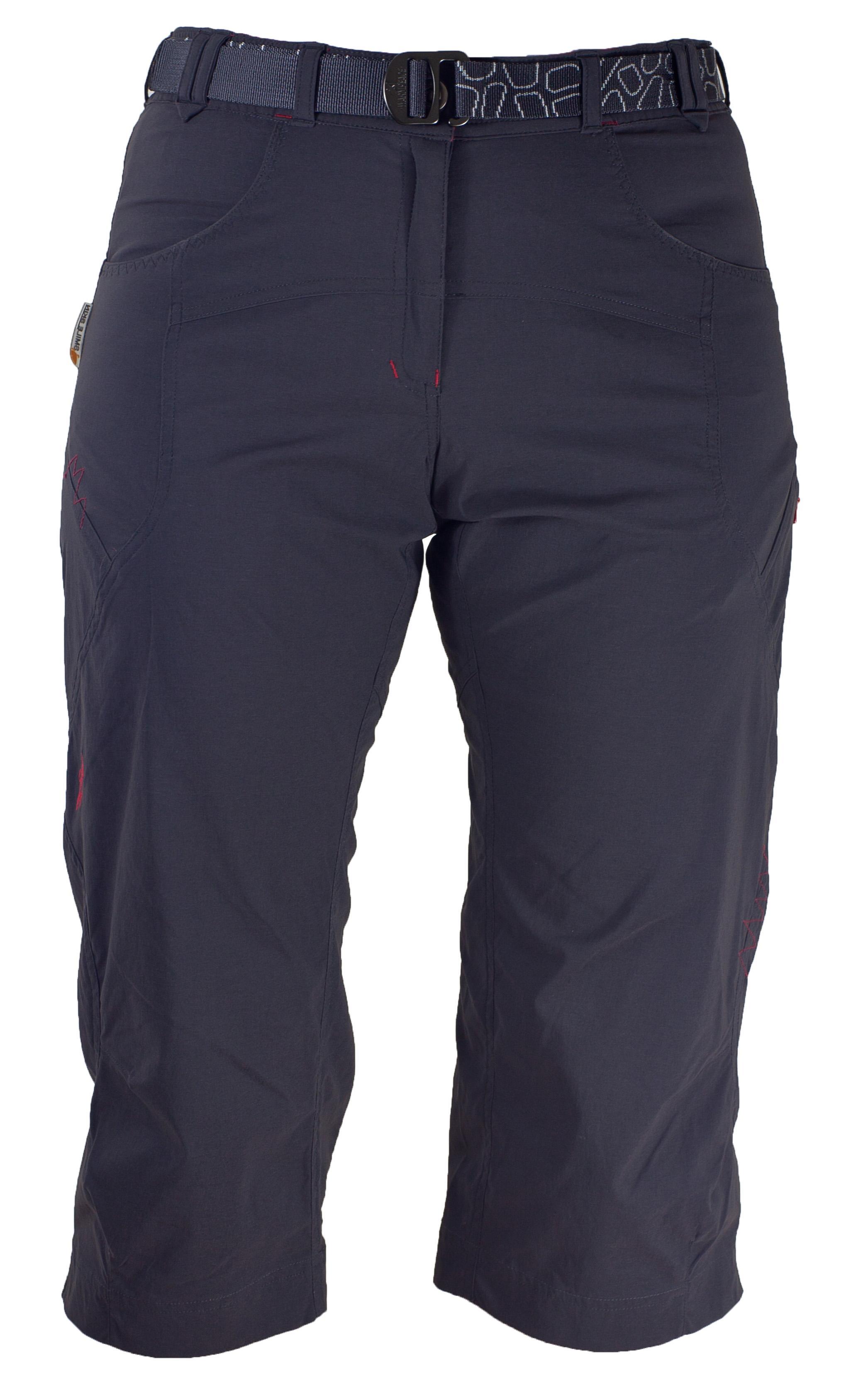Pantaloni Warmpeace Flex 3/4 Lady - Negru