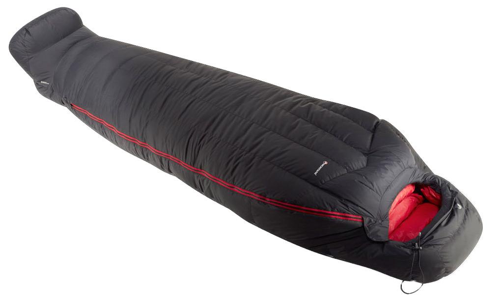 Montane Sac de dormit cu puf Montane Deep Heat - Antracit