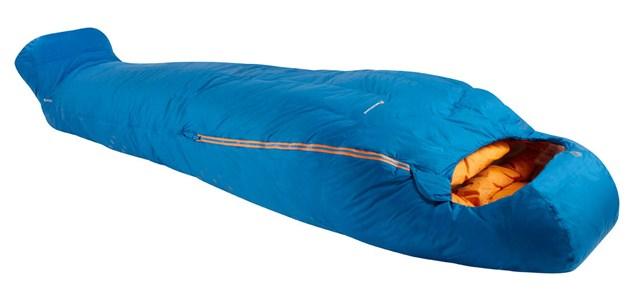 Montane Sac de dormit cu puf Montane Minimus - Albastru