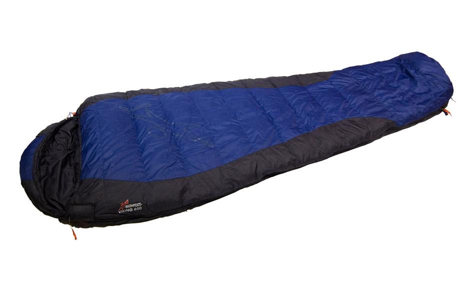 Sac de dormit puf Warmpeace Viking 600 - Albastru