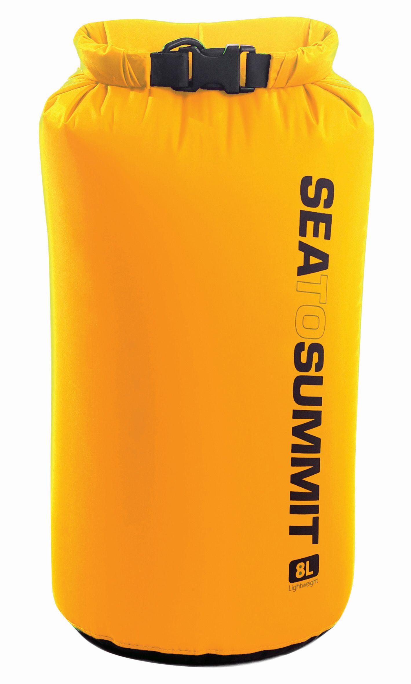 Sac Impermeabil Lightweight Dry Sack Sea To Summit 8l - Galben