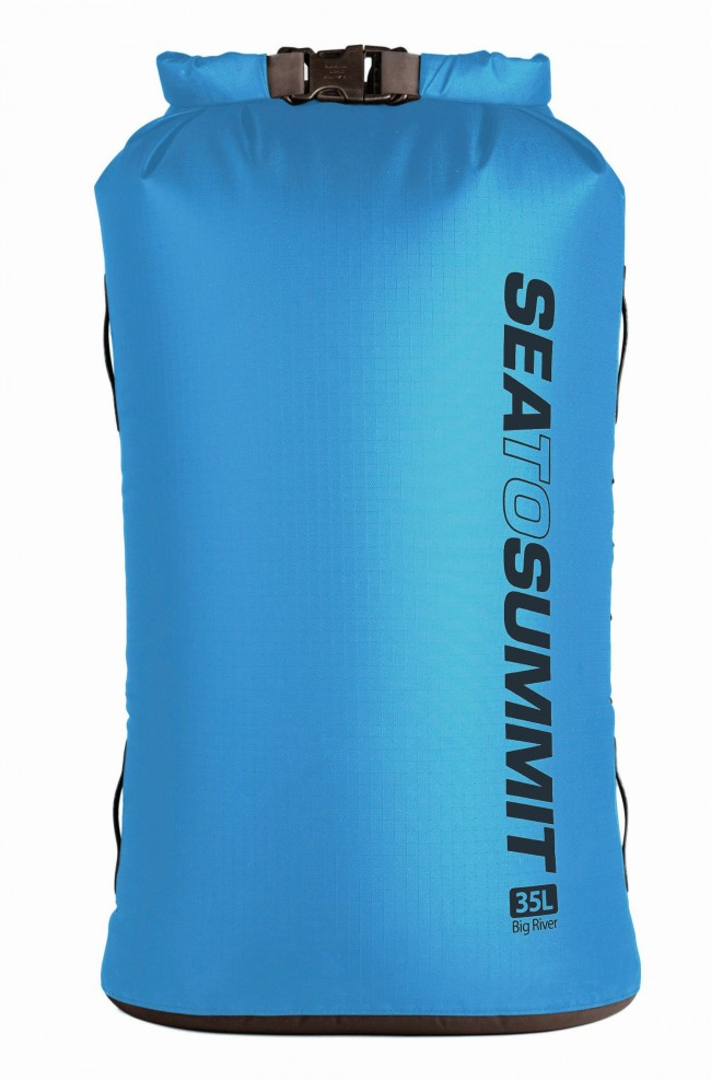 Sac impermeabil Sea to Summit Big River 35L - Albastru