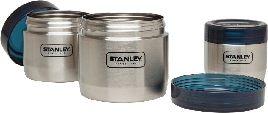 Set termosuri pentru mancare Stanley Adventure Inox 410 ml + 650 ml + 950 ml - Argintiu