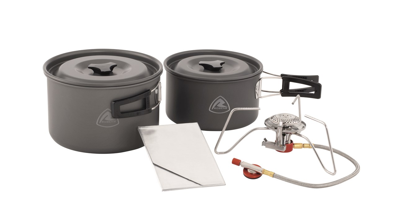 Robens Set vase camping Robens Fire Ant Cook System 3-4