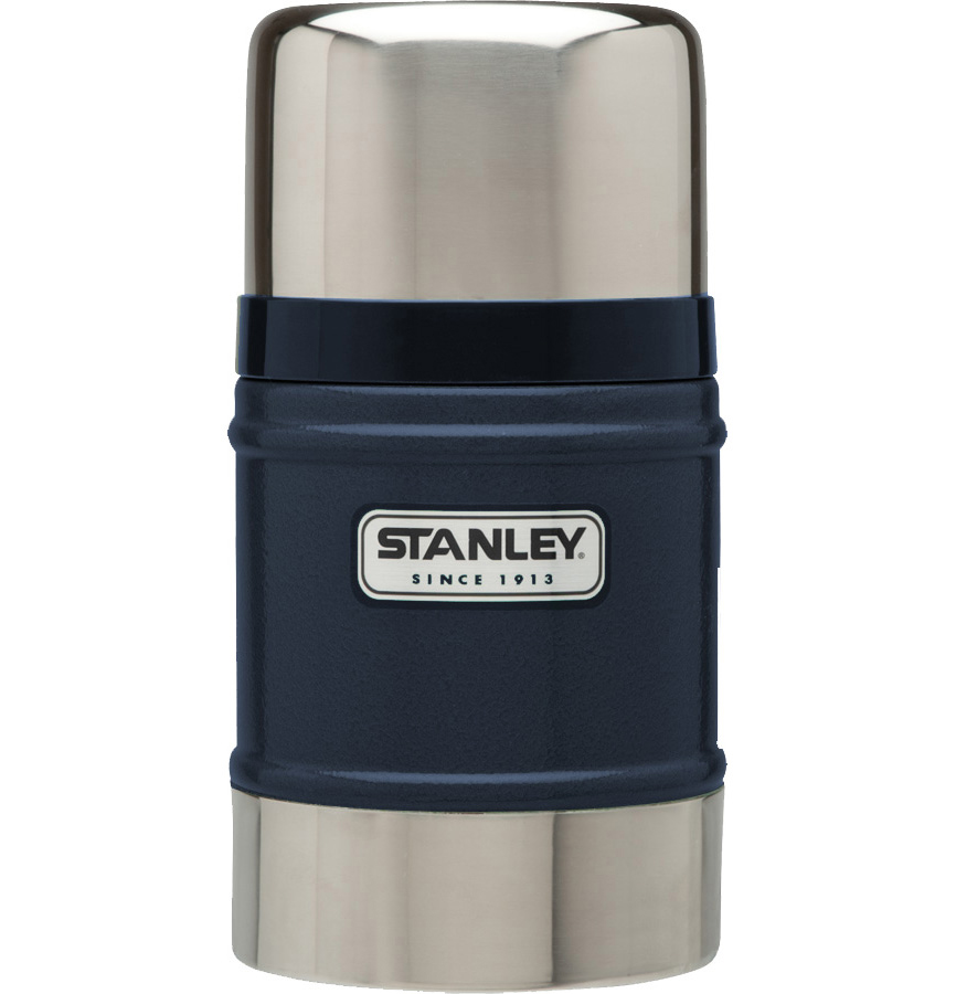 Termos pentru mancare Stanley Clasic Inox 500 ml - Navy