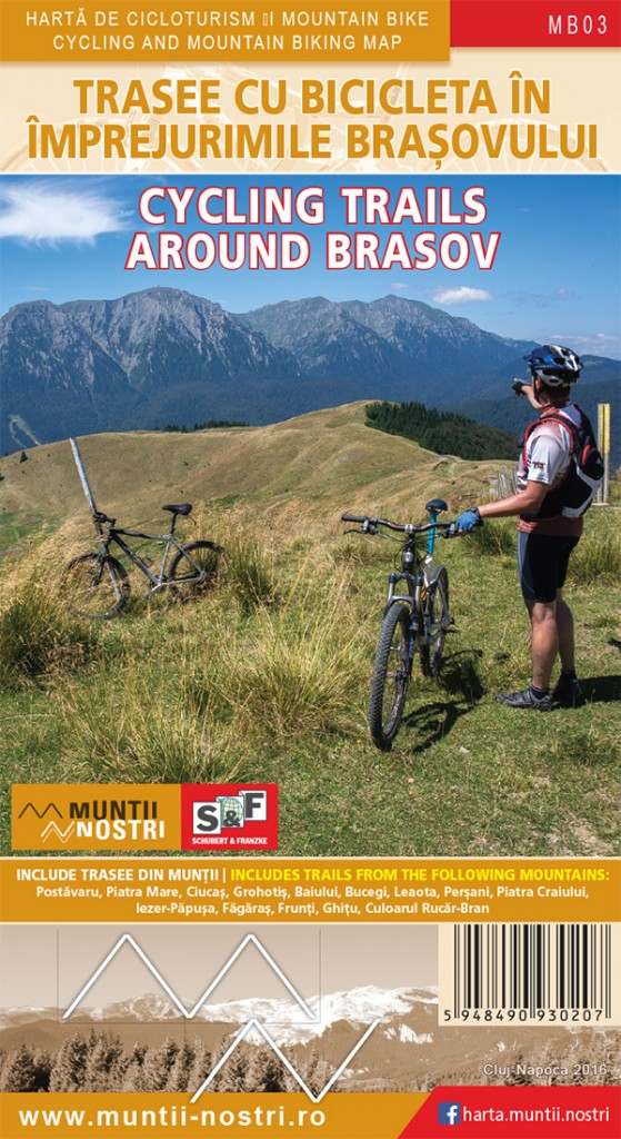 Trasee cicloturistice in imprejurimile BRASOVULUI - Muntii Nostri