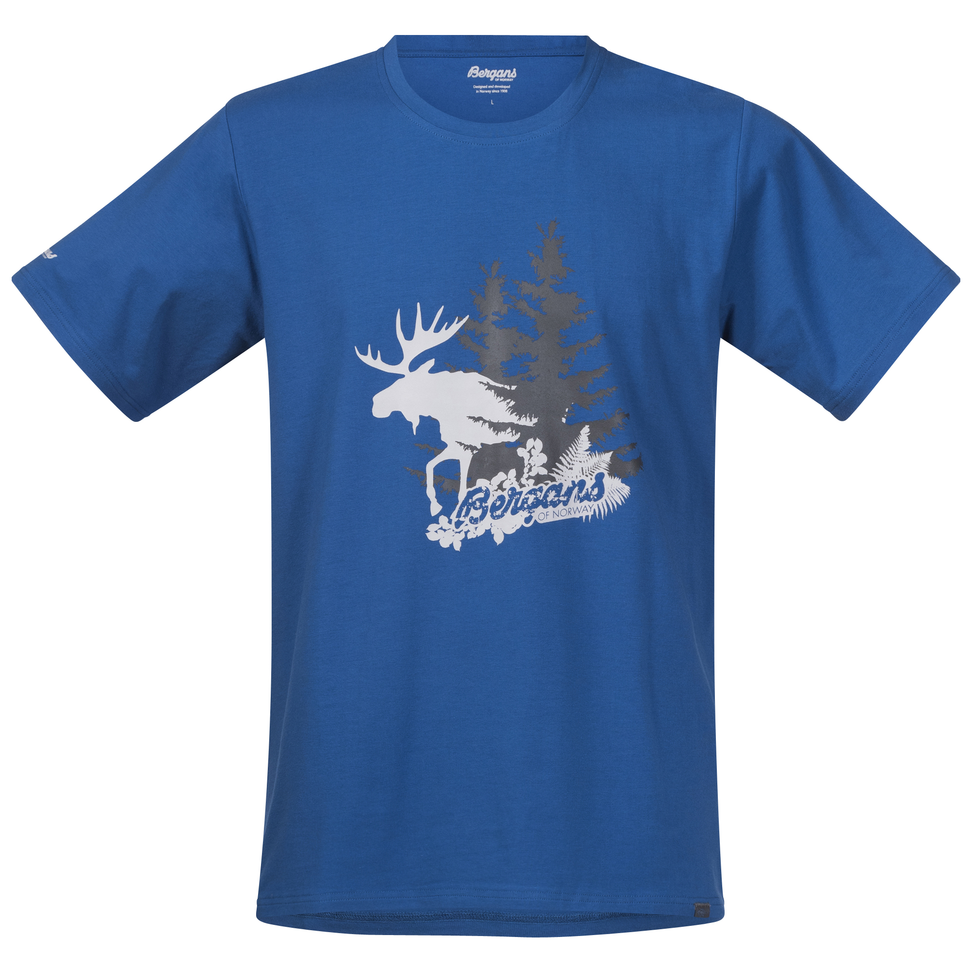Tricou Bergans Elk - Albastru