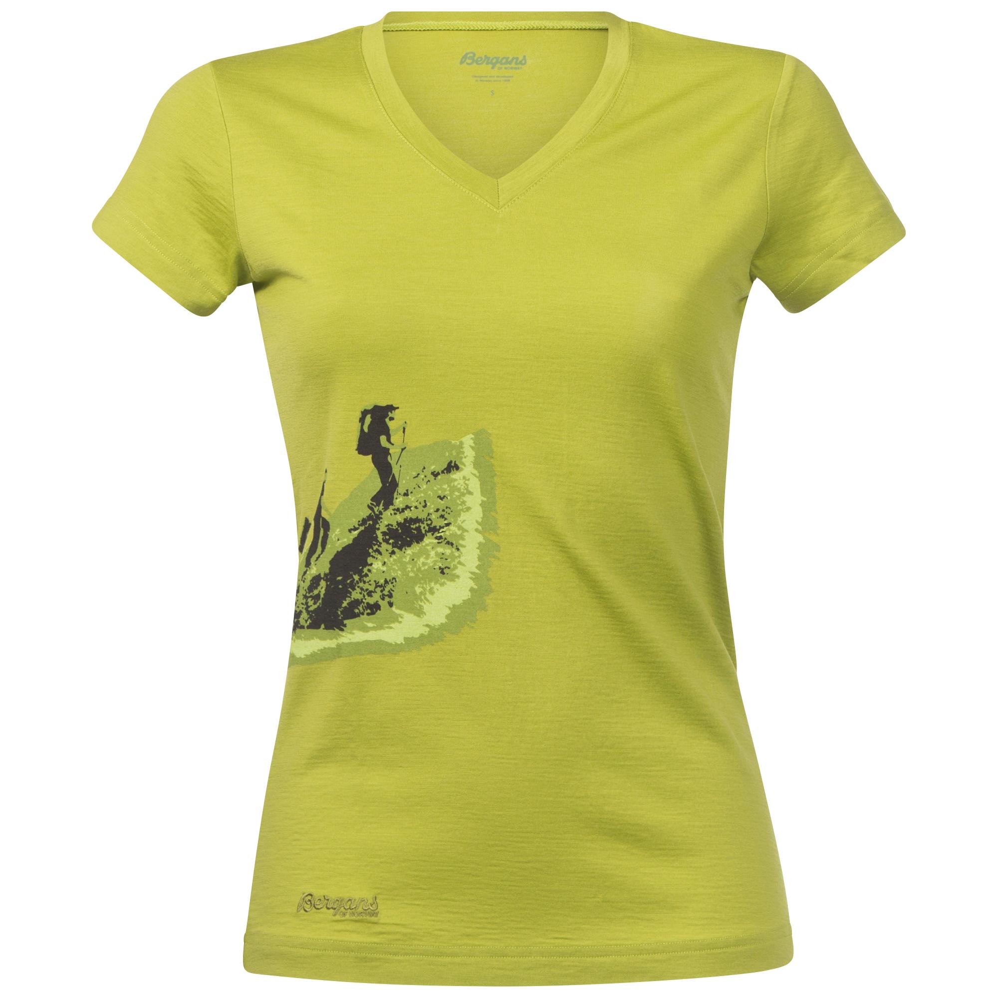 Tricou Bergans Tur Wool Lady - Verde