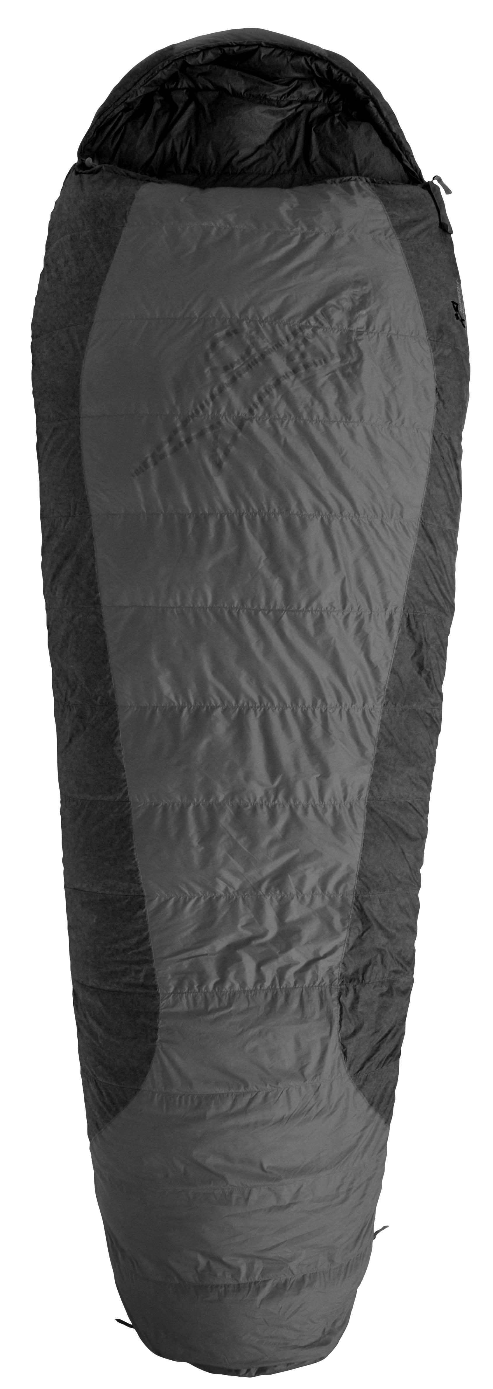 Sac de dormit puf Warmpeace Viking 900 - Gri