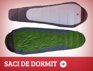 Saci de dormit in cort sau cabana