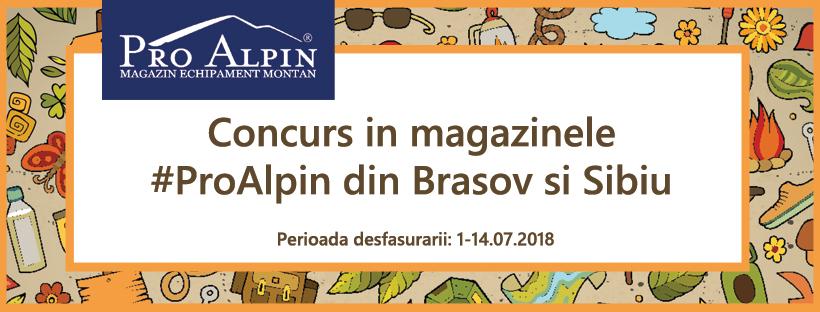 Concurs ProAlpin 1-14.07.2018