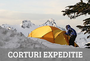 Corturi extreme de expeditie